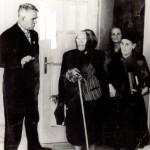 Недялка Шилева - откриване сградата на читалището