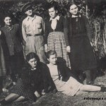 работници в сушилнята 1953г.